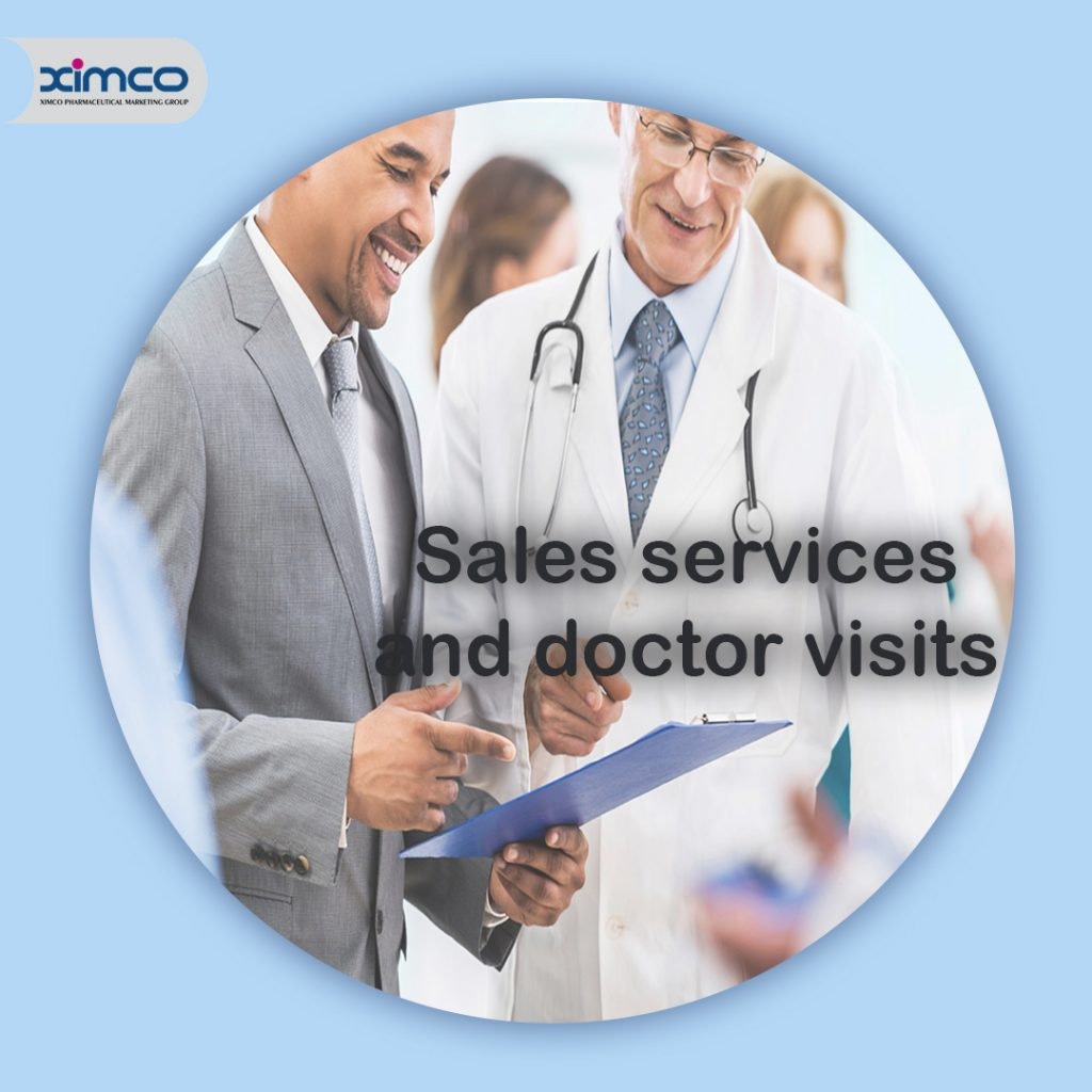 خدمات فروش و ویزیت پزشکان