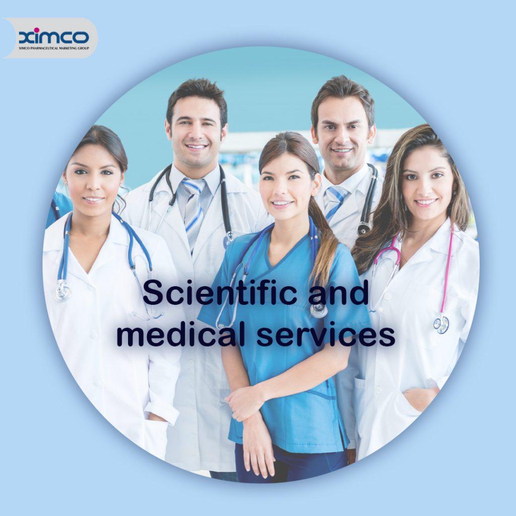خدمات علمی و مدیکال